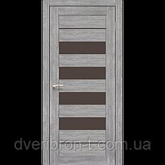Двери Корфад piano deluxe PND 03  Дуб браш, дуб марсала, эш-вайт, ясень белый.