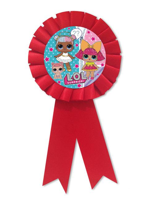 Медаль детская Куклы ЛОЛ подарочная