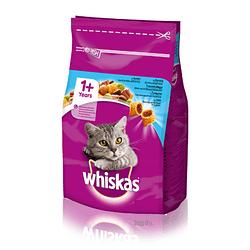 Сухой корм для кошек WHISKAS ( Вискас) Вкусные подушечки с тунцом 14 кг.