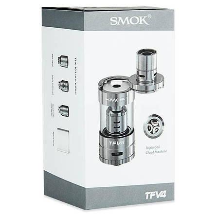 SMOK TFV4 (24,5mm, полный комплект) - Атомайзер для электронной сигареты. Оригинал , фото 2