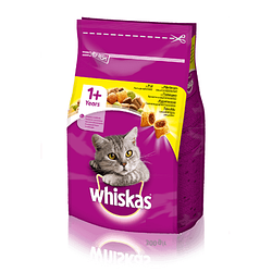 Сухой корм для кошек WHISKAS ( Вискас) Вкусные подушечки с курицей 14 кг.