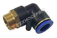 Соединитель тормозных трубок 15-М22 угловой резьба-трубка