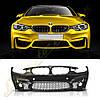 Бампер передний стиль M4 для BMW F32/F33/F36