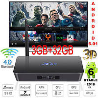 X92 3гб 32гб Amlogic S912 8 Ядер Андроид 6 Смарт ТВ Бокс Smart Tv Box Android 6 Стабильная смарт Приставка 3-3