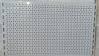 Металева панель 950х250 (зашивка)  перфорована для стелажів, фото 1