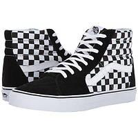 Кеды унисекс Supreme x Vans Sk8 Hi PRO Black White Check высокие р. 5 d82e92dc3ad