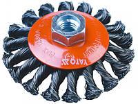 Щетка-крацовка проволочная жгутовая 100мм Yato