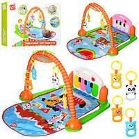 Коврик для младенца HX9127-28-29A, игровой, музыкальный