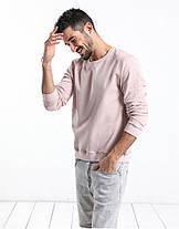 Мужская розовый свитшот , фото 2