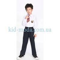 Школьная форма с галстуком (рубашка, брюки)