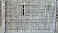 Сітчаста панель (зашивка) для стелажів шириною 1200мм висотою 450мм, фото 1