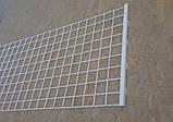 Сітчаста панель 1200х450 (зашивання) для стелажів, фото 3