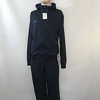 Мужской спортивный костюм Adidas / эластан / синий