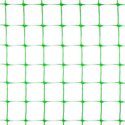 Сетка пластиковая для птиц  1*100 м (12*14мм), фото 2