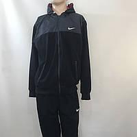 Мужской спортивный костюм Nike (большой размер) / темно синий/ р.56-62, фото 1