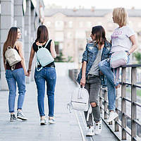 Модные женские рюкзаки из кожи сезон осень - зима 2019