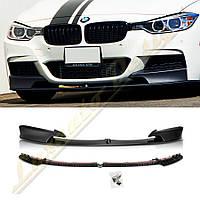 Диффузор переднего бампера M-PERFORMANCE для BMW F30
