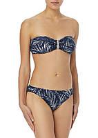 Женский темно-синий купальник с принтом Michael Kors, фото 1