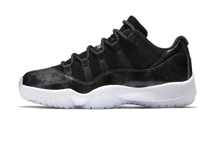 Мужские Баскетбольные кроссовки Nike Air Jordan 11 Black (Реплика ААА+) 0e5c92b2762