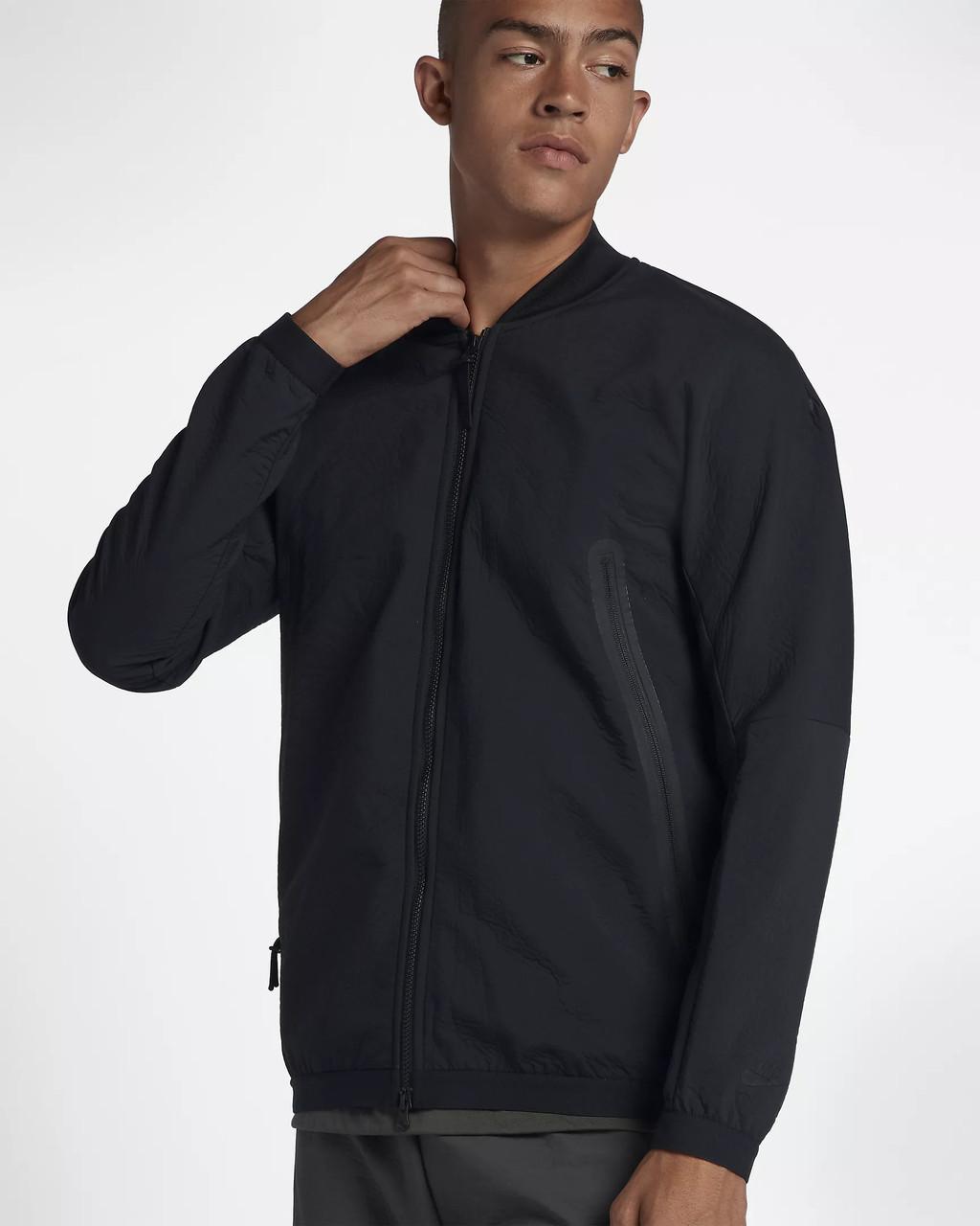 2a455ae3 Куртка Nike Sportswear Tech Pack Woven Track Jacket 928561-010 (Оригинал) -  Football
