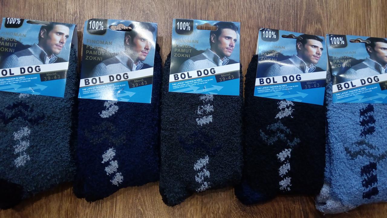 """Мужские махровые носки""""Bol Dog"""" 39-43 и 43-47"""