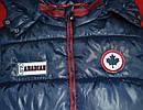 Зимняя куртка для мальчика Canadian темно-синяя (QuadriFoglio, Польша), фото 3