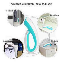 Ручной отпариватель для одежды с насадками 1000W (110-120 V) для дома и путешествий, фото 2