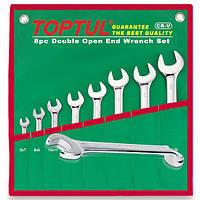 Набор ключей комбинированных (угол 75°) 8шт. 8-19мм (в сумке),TOPTUL  GAAA0815