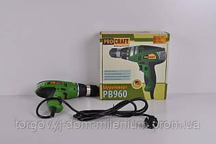 Шуруповерт сетевой 960 Вт. PRO-CRAFT PB960