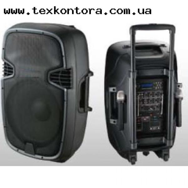 Мобильная автономная акустическая система JB12RECHARG350+MP3/FM/Bluetooth+DC-DC INVERTOR
