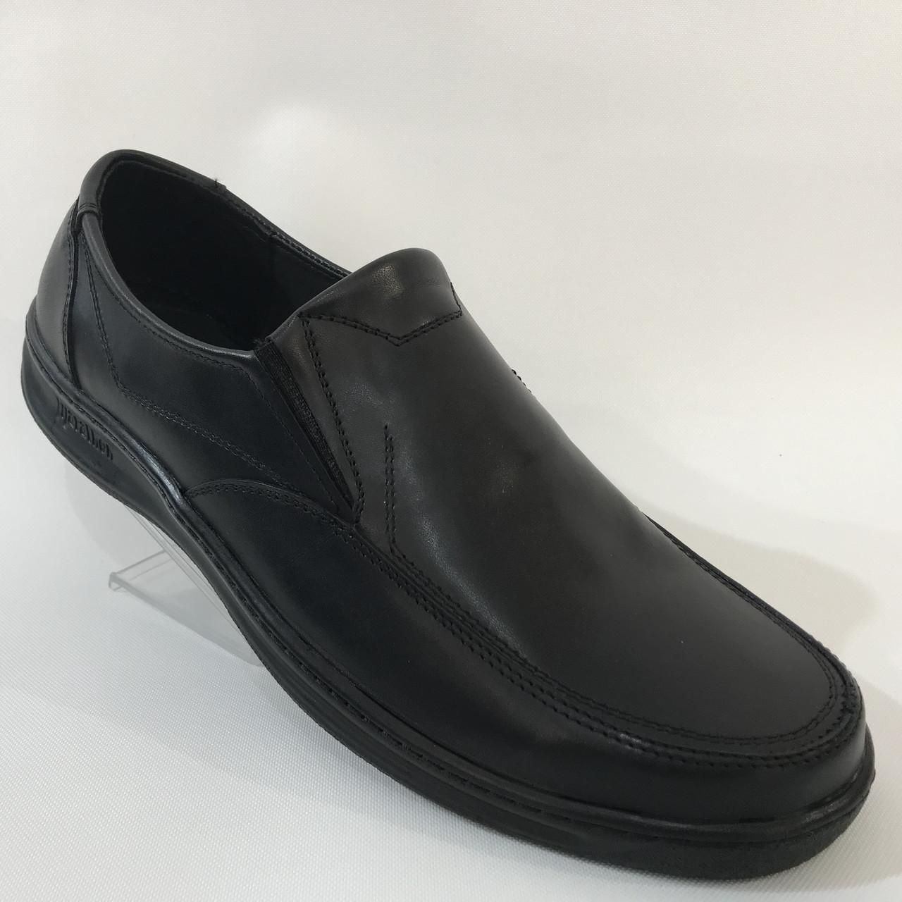 Мужские кожаные туфли большой размер,отличного качества / р.46-47