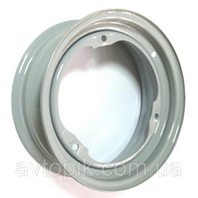 Стальные диски Кременчуг ЗАЗ Таврия R13 W4.5 PCD3x256 ET30 DIA228 (серый)