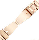 Металевий ремінець Primo для годин Samsung Gear S3 Classic SM-R770/Frontier RM-760 - Rose Gold, фото 6