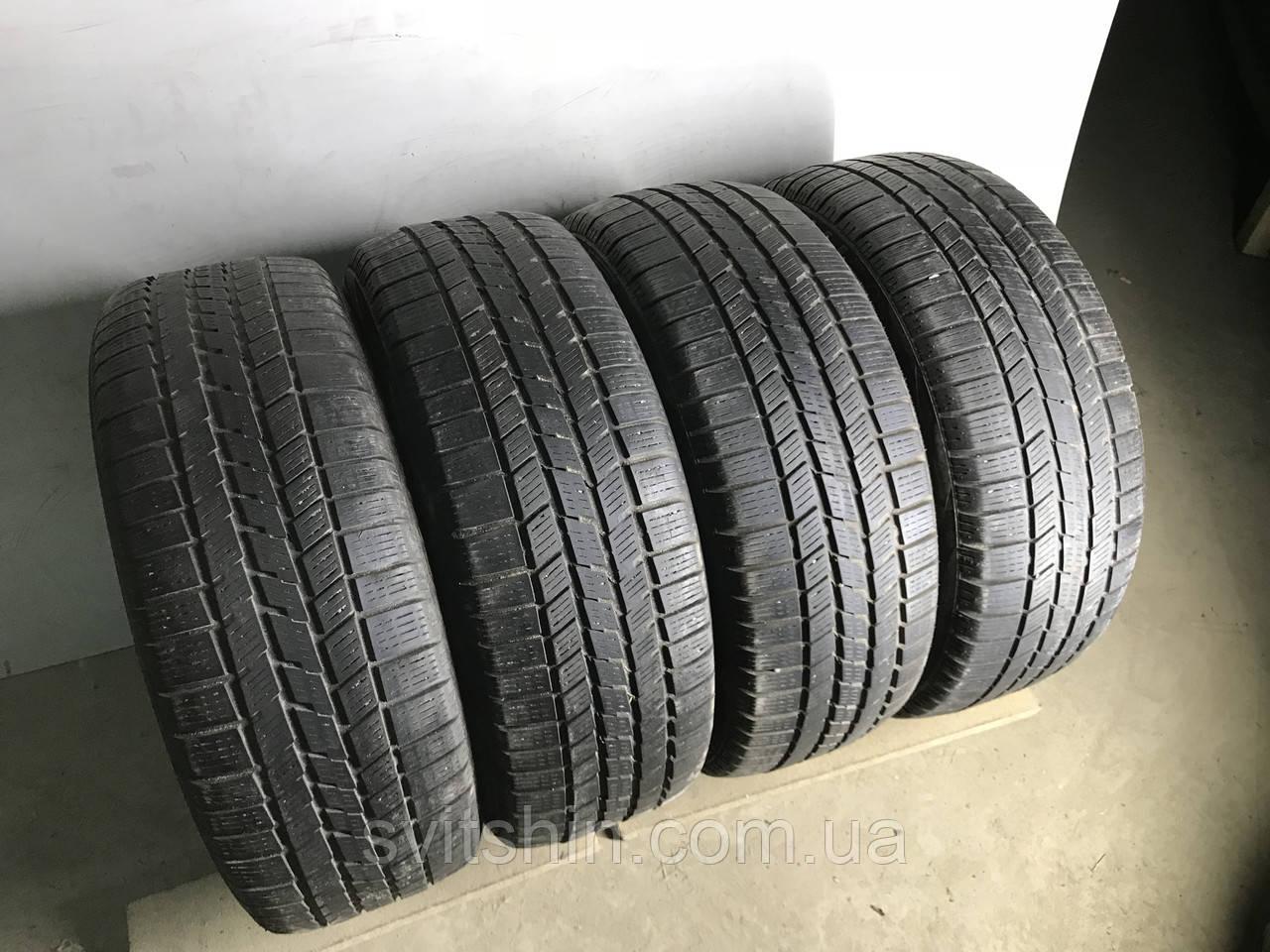 Шины бу зима 195/55R16 Pirelli Winter 210 Snowsport RFT 4шт (4,5-5,5мм)