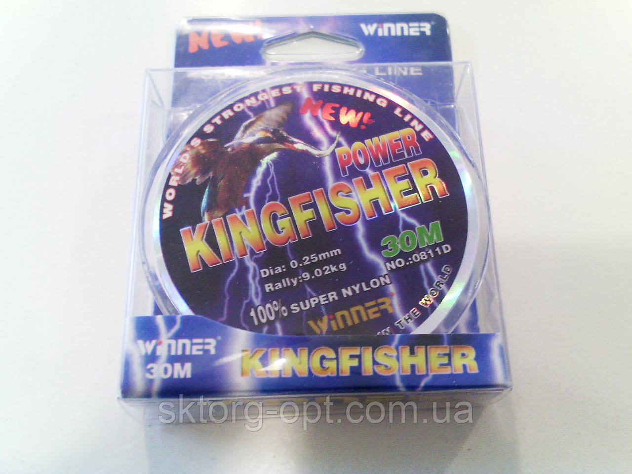 Леска KingFisher 0.25мм 30м