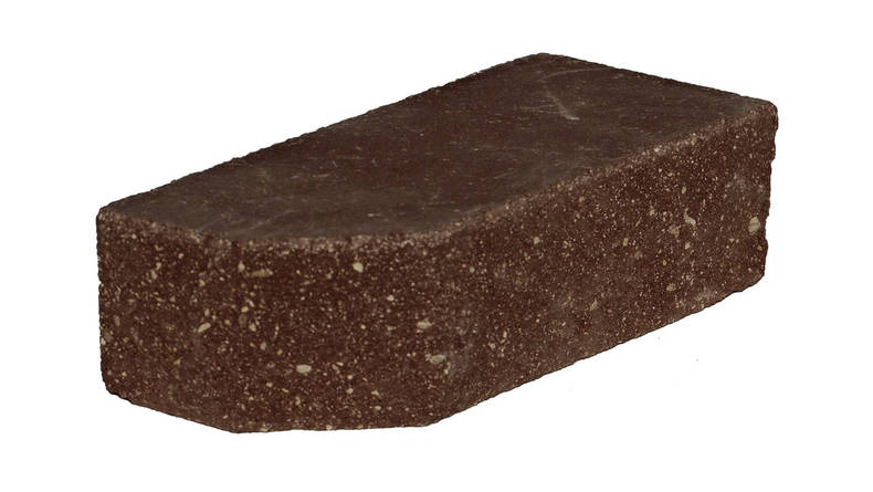 Кирпич угловой коричневый 250х120х65 (1под.- 336 шт)