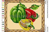 """Схема для вышивки бисером """"Овочі. Перець"""""""