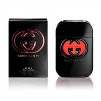 Женская туалетная вода Gucci Guilty Black (глубокий восточно-цветочный аромат)