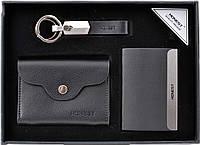 Подарочный набор-ручка/брелок/нож/блокнот №3045