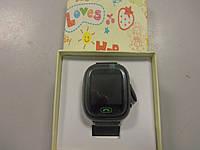 Детские телефон-часы с GPS трекером Smart Watch Q90 черные