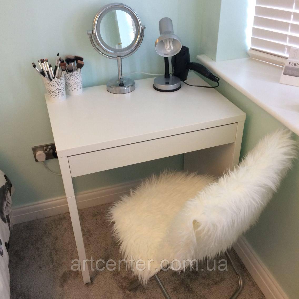 Туалетный столик белый, гримерный столик, стол для визажиста