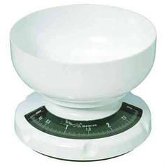 Весы механические модель +6130 (кухонные, пластик, до 3кг)