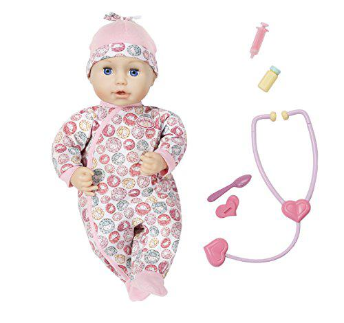 Кукла пупс Baby Annabell Беби Анабель интерактивная Милли Доктор Milly Feel's Better Zapf Creation