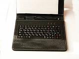 Чехол с клавиатурой 9.7 черный с русскими буквами, фото 4