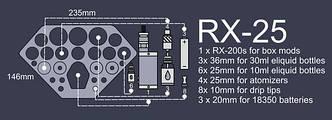 ArtVape RX-25. Органайзер, фото 2