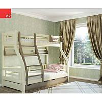 Детская двухьярусная кровать Светлана 3 в 1
