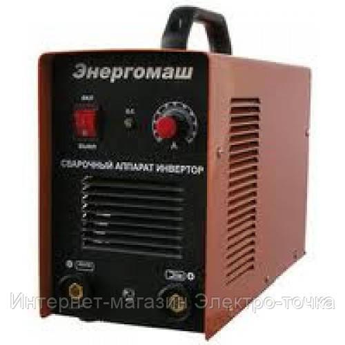 Сварочный аппарат-инвертор Энергомаш от 30 до 210 А СА-97И19Б
