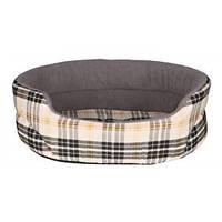 Лежак для собак Trixie Lucky в клетку 95*75см. (37026)
