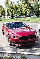 Оренда червоного кабріолета Форд Мустанг, фото 1