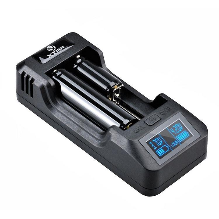 XTAR VP2 - Интеллектуальное зарядное устройство. Оригинал